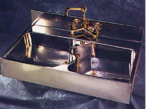 Promiscuous assemblage promiscuous assemblage for German made kitchen sinks